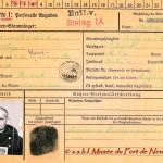 Fiche personnelle de Stalag du Soldat Baumsteiger