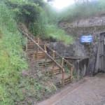 Nouveaux escaliers au Fort