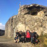 Le fort prêt pour l'hiver grâce à l'aide de bénévoles américains
