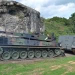 Arrivée de blindés sur le Fort