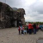 L'école primaire de Warsage en visite au Fort d'Aubin